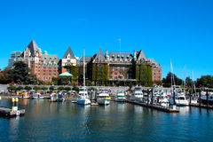 Empress Hotel, Victoria B.C Royalty Free Stock Images