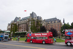 Empress Hotel, Victoria, British Columbia, Canada Royalty Free Stock Images