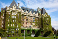 The Empress hotel in Victoria Canada Royalty Free Stock Photography