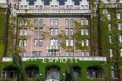 The Empress hotel in Victoria Canada Stock Images