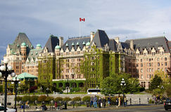 The Empress hotel in Victoria Canada Royalty Free Stock Images