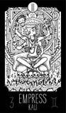 Empress. Kali Stock Illustration