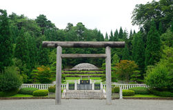 Empress Kojun`s tomb, Hachioji, Japan Stock Image