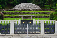 Empress Kojun`s tomb, Hachioji, Japan Stock Images