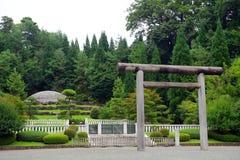 Empress Kojun`s tomb, Hachioji, Japan Royalty Free Stock Photography