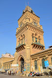 Empress Market clock tower Stock Image