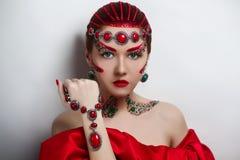 Empress medieval ball Stock Photo
