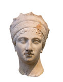 Empress Plautina head, wife of Roman Emperor Trajan Royalty Free Stock Images