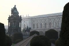 Empress, queen Maria-Theresia monument, Vienna stock photo