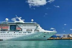 Empress of the Seas ship Stock Image