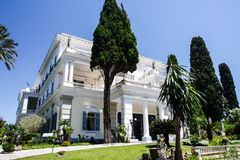 Empress Sisi Palace Corfu Greece Royalty Free Stock Photo