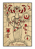 The Empress. The tarot card Royalty Free Stock Photos