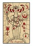 The Empress. The tarot card Royalty Free Illustration