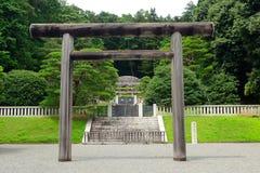 Empress Tenmei's tomb, Hachioji, Japan Stock Image