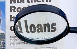 Empréstimos. Fotos de Stock