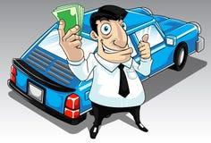 Emprunt de véhicule Images libres de droits