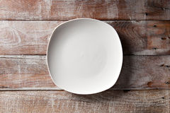 Empry Plate Stock Photography