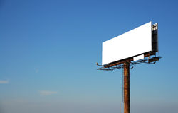 Empt billboard Stock Images