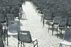 Empt chairs Royalty Free Stock Photos