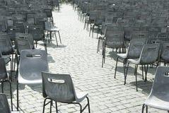 Empt Stühle Lizenzfreie Stockfotos