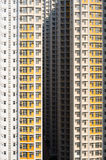 Emptiness. Blocks of buildings with no resident Stock Photography