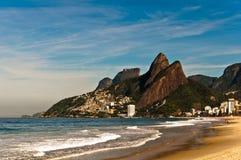 Emptu Ipanema plaża obraz stock