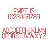Emptus Royalty Free Stock Photo