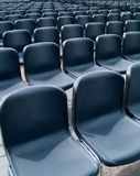 Empty. Rows of empty seats waiting for the audience Stock Photos