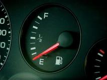 Empty. Fuel shortage Stock Photography