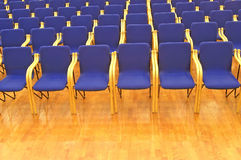 Empty. Conference hall, ready for the event Stock Photo