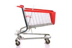 Empty A Shopping Cart Stock Photo