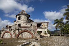 The empty, abandoned house in mountains, Cuba Royalty Free Stock Image