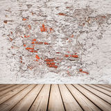 Empty abstract interior with wooden floor Royalty Free Stock Images