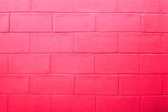 Empty of abstract red brick wall background. Stock Images