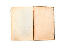 Empty aged book Royalty Free Stock Photography