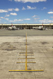 Empty Airplane Terminal At Airport Royalty Free Stock Photography