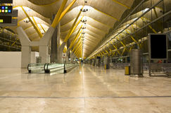 Empty airport Royalty Free Stock Images