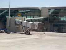 Empty airport gate Royalty Free Stock Images