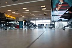 Empty airport hall Royalty Free Stock Images