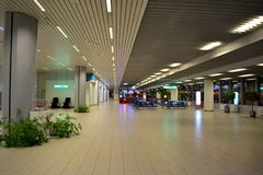 Empty airport hall Royalty Free Stock Photo