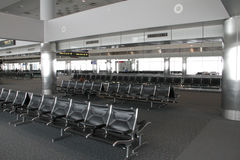 Empty Airport Seating Royalty Free Stock Photography