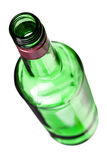 Empty alcohol bottle Stock Photo