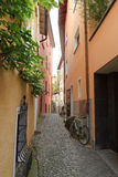 Empty alley Royalty Free Stock Image