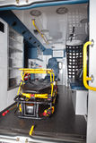 Empty Ambulance Interior Royalty Free Stock Photos