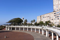 Empty Amphitheater on Beachfront in Durban South Africa Stock Photo