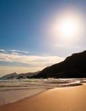 Empty And Clean Tropical Beach Stock Photos