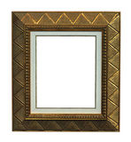 Empty antique frame Royalty Free Stock Photography