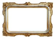 Empty antique frame Stock Photos