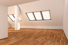 Empty apartment Stock Photography
