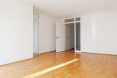 Empty apartment Stock Images